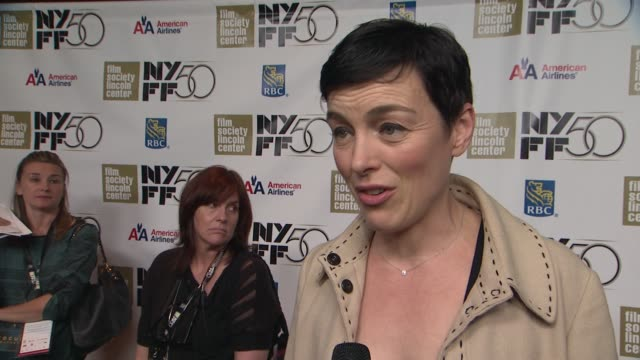 Olivia Williams on how she prepared for the role how she wanted to show the more intimate nuances of this public figure on what a wonderful actor he...