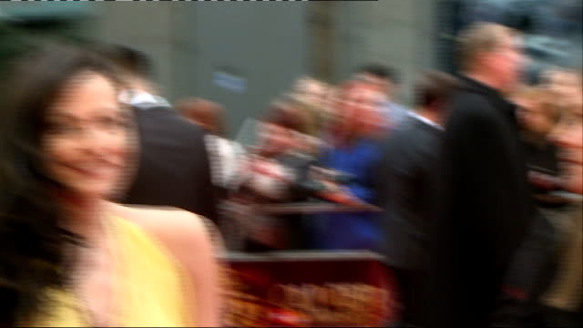 Olivier awards 2013 Nicola Walker interviewSOT / Lara Pulver gvs and interview SOT / GVs Brian May Anita Dobson / Helen McCrory interview SOT / Brian...