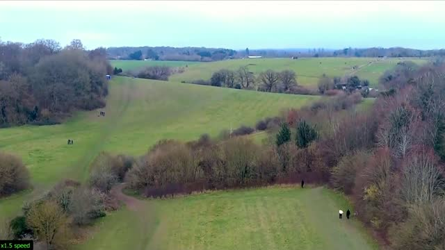 two teenagers jailed for life; england: berkshire: reading: ext air view / aerial drone footage of fields where olly stephens was murdered. - itv news at ten stock videos & royalty-free footage