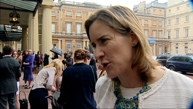 Olympians and Paralympians receive honours at Buckingham Palace ENGLAND London Buckingham Palace EXT CBE medal in box held by Olympic rowing gold...