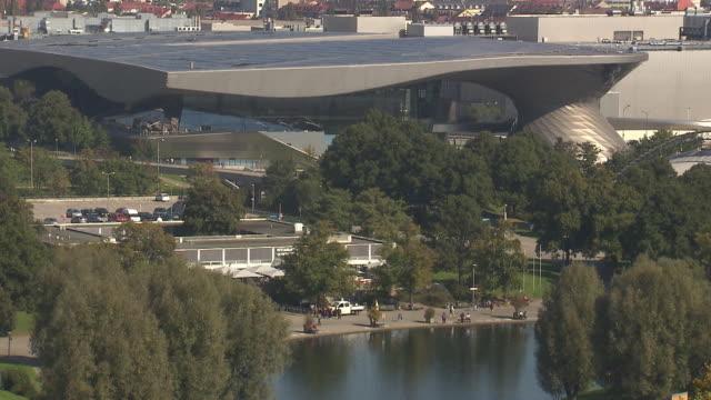 Olympiapark,  Park, Olympiasee, BMW World