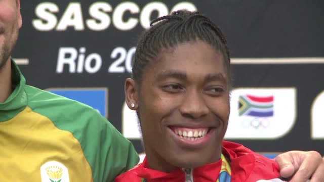 olympic 800 metres champion caster semenya of south africa appears at the court of arbitration for sport to challenge proposed rules that could force... - caster semenya stock videos & royalty-free footage