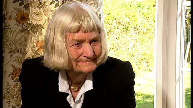 interview with former olympians dorothy parlett and dorothy tyler croydon dorothy tylerodam interview sot on her memories of what the xiv olympiad... - french food and wine stock videos & royalty-free footage