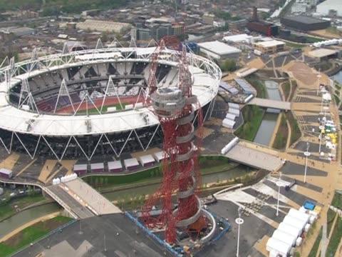 Olympic Stadium and Orbit tower