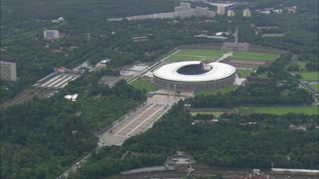olympic stadium - オリンピックスタジアム点の映像素材/bロール