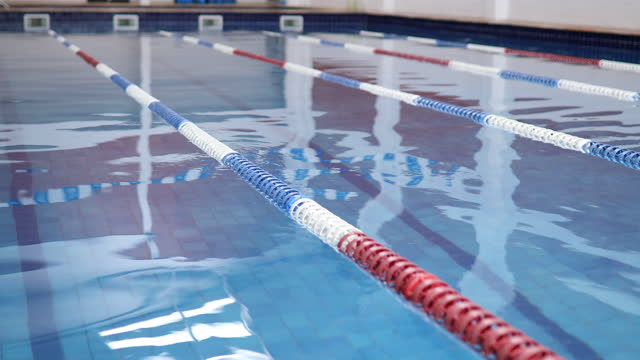 olympic swimming pool - swimming pool stock videos & royalty-free footage