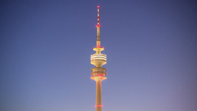 Olympic Tower Munich - time-lapse