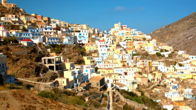 Olympos village on Karpathos island, Greece