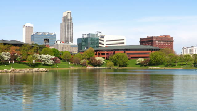 omaha, nebraska - omaha stock videos & royalty-free footage