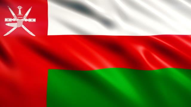 oman flag - oman flag stock videos and b-roll footage