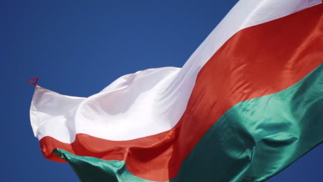 vídeos y material grabado en eventos de stock de bandera de omán - omán