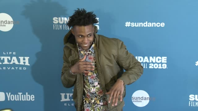 omar brunson at 'luce' premiere 2019 sundance film festival at library center theater on january 27 2019 in park city utah - luce stock videos & royalty-free footage