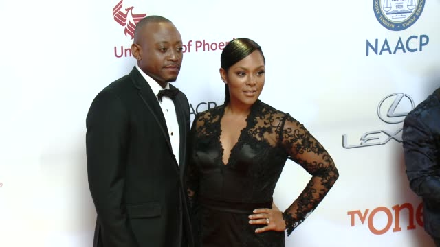 stockvideo's en b-roll-footage met omar epps at the 46th annual naacp image awards arrivals at pasadena civic auditorium on february 06 2015 in pasadena california - pasadena civic auditorium