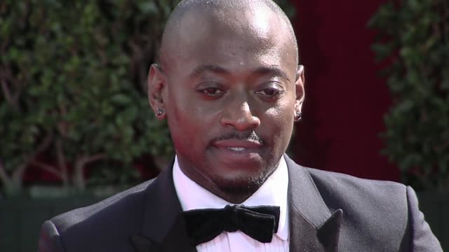 omar epps at the 61st annual primetime emmy awards - arrivals part 3 at los angeles ca. - annual primetime emmy awards stock videos & royalty-free footage
