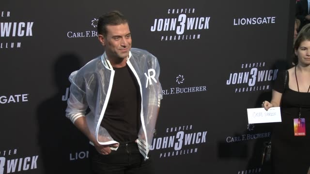 omar sharif jr at john wick chapter 3 parabellum los angeles special screening at tcl chinese theatre on may 15 2019 in hollywood california - omar sharif jr stock-videos und b-roll-filmmaterial