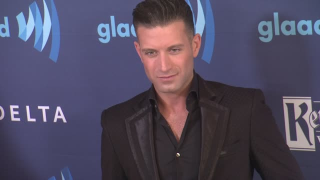 omar sharif jr at the 26th annual glaad media awards at the beverly hilton hotel on march 21 2015 in beverly hills california - the beverly hilton hotel stock videos & royalty-free footage