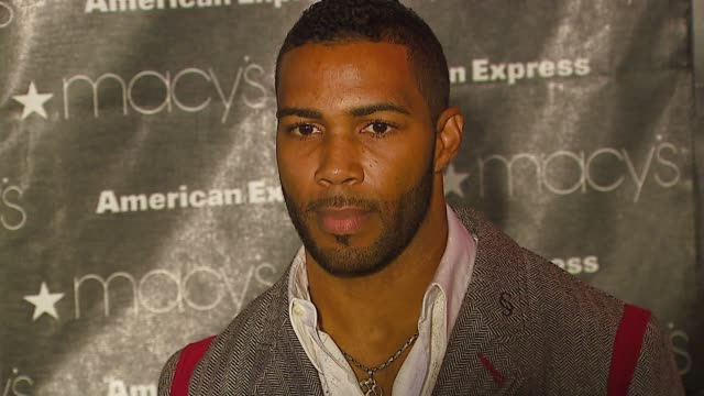 Omari Hardwick at the Macy's Passport Gala 2006 at Santa Monica Airport's Barker Hanger in Santa Monica California on September 28 2006