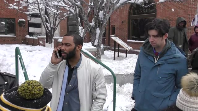 Omari Hardwick on Main Street at the Sundance Film Festival in Celebrity Sightings in Park City UT