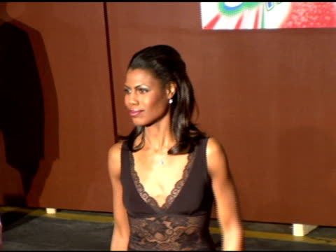 omarosa at the 19th annual soul train music awards arrivals at paramount studios in hollywood california on february 28 2005 - omarosa manigault newman stock videos & royalty-free footage