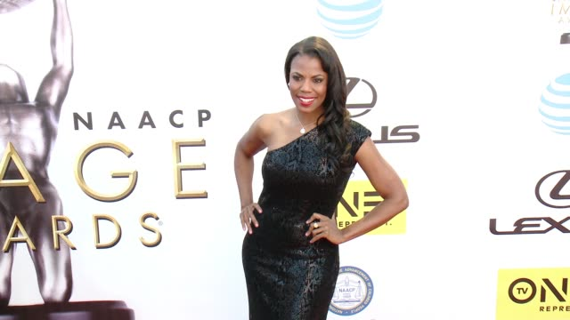 omarosa manigault at 47th naacp image awards in los angeles ca - omarosa manigault newman stock videos & royalty-free footage