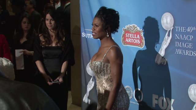 omarosa manigault at the 40th naacp image awards post show gala at los angeles ca - omarosa manigault newman stock videos & royalty-free footage