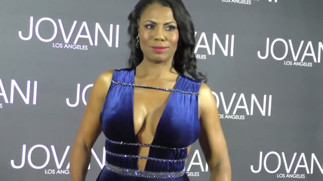 omarosa manigault at the jovani la flagship opening at jovani in beverly hills in celebrity sightings in los angeles - omarosa manigault newman stock videos & royalty-free footage
