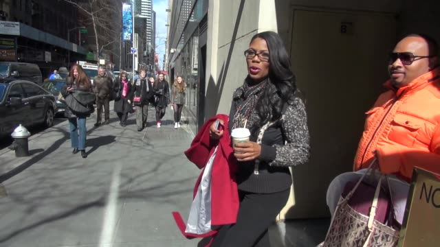 omarosa manigault at the 'today' show studio omarosa manigault at the 'today' show studio on april 02 2013 in new york new york - omarosa manigault newman stock videos & royalty-free footage