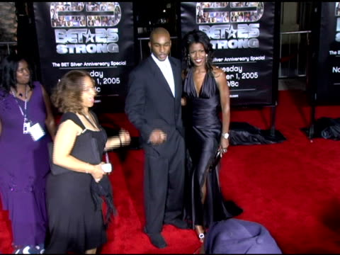 omarosa manigault stallworth at the bet 25 strong silver anniversary special arrivals at the shrine auditorium in los angeles california on october... - omarosa manigault newman stock videos & royalty-free footage