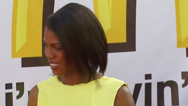 omarosa manigaultstallworth at the 21st annual soul train music awards at pasadena civic auditorium in pasadena california on march 11 2007 - omarosa manigault newman stock videos & royalty-free footage