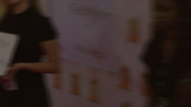 omarosa manigault-stallworth at the 21st annual soul train music awards at pasadena civic auditorium in pasadena, california on march 11, 2007. - omarosa manigault stallworth stock-videos und b-roll-filmmaterial