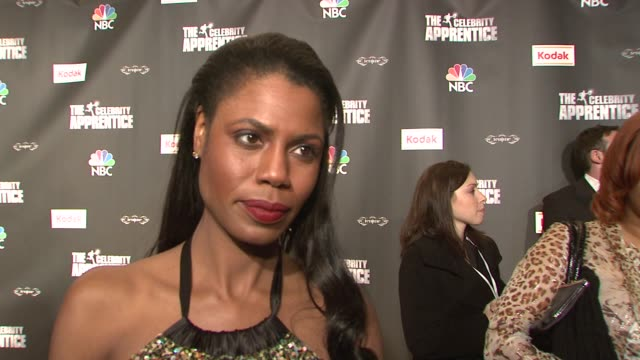 omarosa stallworth talking about why she wanted to do the show again her relationship with donald trump and what she shared of her past experience... - omarosa manigault newman stock videos & royalty-free footage