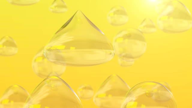 vídeos de stock e filmes b-roll de omega - vitamina a