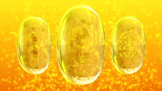 omega-3 - omega 3 stock videos & royalty-free footage