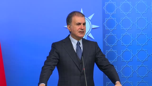 omer celik the spokesman for the ruling justice and development party holds a press conference at ak party headquarters in ankara turkey the... - honor killing stock videos & royalty-free footage
