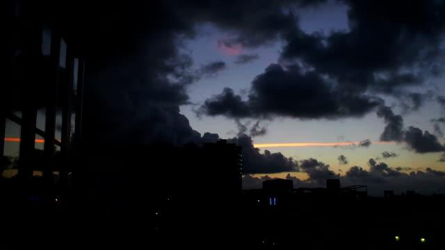 不吉をマイアミビーチの日の出タイムラプス - アールデコ地区点の映像素材/bロール
