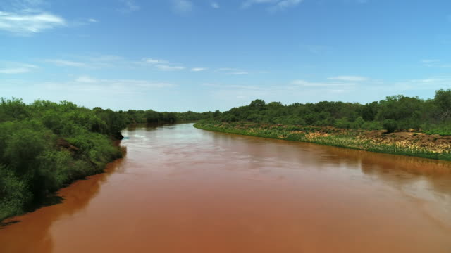 omo river / ethiopia, africa - named wilderness area stock videos & royalty-free footage