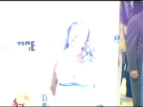 omorosa manigualtstallworth at the 'the apprentice' season finale at la mart in los angeles california on june 5 2006 - omarosa manigault newman stock videos & royalty-free footage