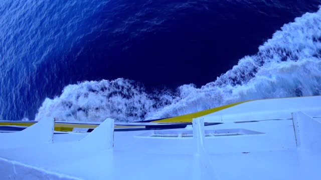 vidéos et rushes de sur un ferry en mer méditerranée - ferry