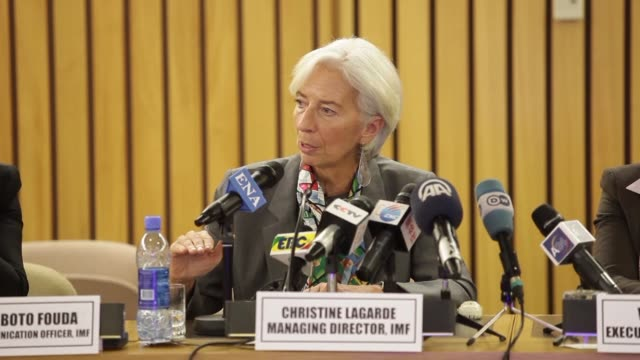 On a visit to Addis Ababa the IMF Director Christine Lagarde said she regretted that overall global growth masks the decline in per capita income in...