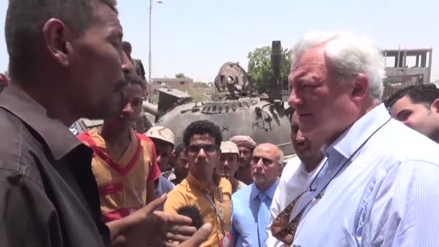 On a visit to Aden on Wednesday aimed at assessing humanitarian needs Stephen O'Brien the UN's Under Secretary General for Humanitarian Affairs met...