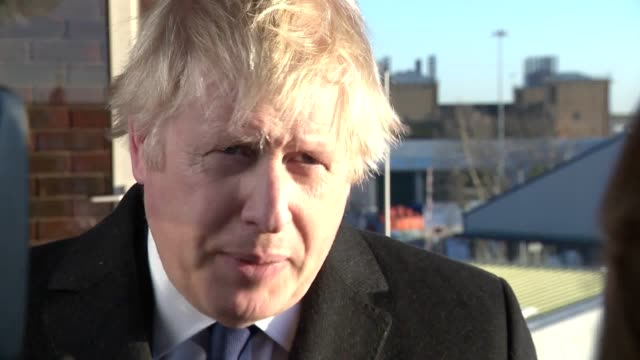 """on a visit to southampton the prime minister replied to criticisms of """"politicising"""" the london bridge terror attack after promising to end early... - terrorism stock videos & royalty-free footage"""