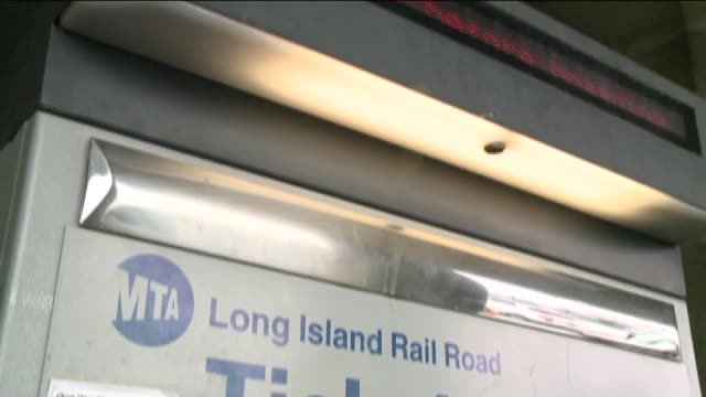 wpix on april 08 2014 in baldwin new york - long island railroad stock videos and b-roll footage