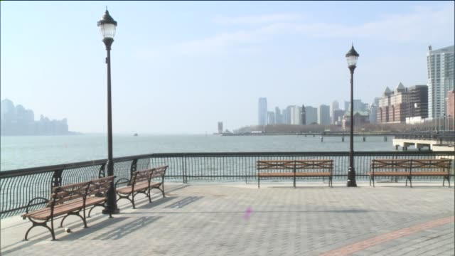 on april 13, 2014 in hoboken, new jersey. - pier stock videos & royalty-free footage