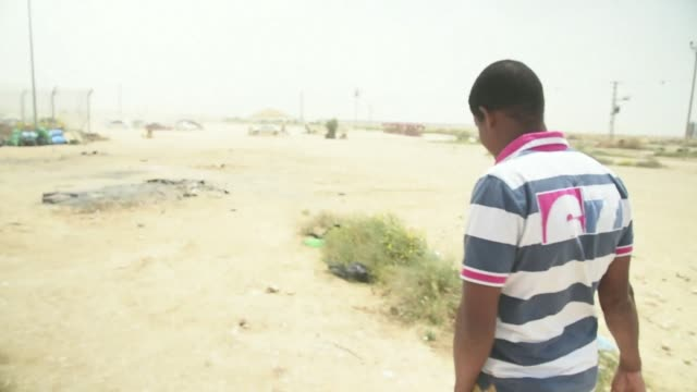 on april 19, the islamic state group in libya released a graphic video showing at least 28 african christians being killed - negev stock videos & royalty-free footage