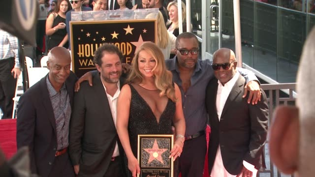 on august 05 2015 in hollywood california - mariah carey stock videos and b-roll footage