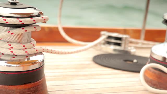 On Board Luxury Sailing Yacht