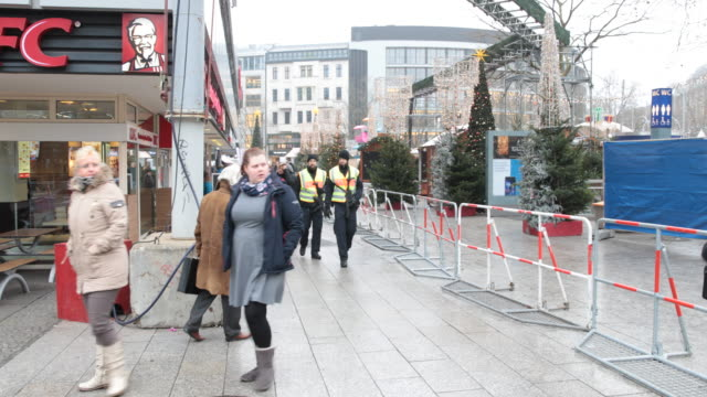 BERLIN GERMANY DECEMBER On December 19 Tunisian immigrant Anis Amri hijacked a truck after killing the driver and plowed it into the Christmas market...