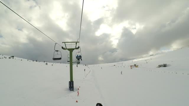 On drag lift