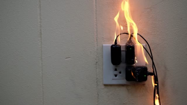 On fire adapter