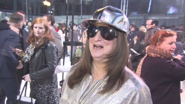 G on her new fame the X Factor tour and getting public transport at xXx Return of Xander Cage Premiere European Premiere at Cineworld 02 Arean on...